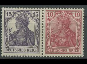 Dt. Reich, W 13 aa, ungebraucht, vollständige Zähnung, Mi. 180,- (12800)