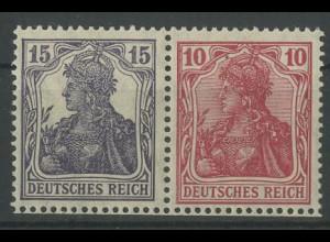 Dt. Reich, W 13 aa, ungebraucht, vollständige Zähnung, Mi. 180,- (12801)