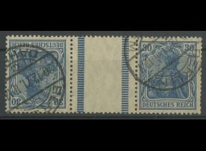 Dt. Reich, KZ 3.1, gestempelt, gepr. BPP, Mi. 300,- (12813)