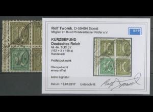 Dt. Reich, S 31, gestempelt, Befund BPP, Mi. 300,- (12904)