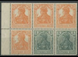 Dt. Reich, HBl. 20 ab A 0, ungebr. (W 6 postfr.), Befund BPP, Mi. 420,- (12921)