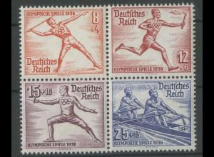Dt. Reich, Bl Hz 5, Olympiade-Block, postfrisch, Mi.-Handbuch 60,- 12924)
