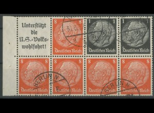 Dt. Reich, HBl. 88 B, gestempelt, Mi. 55,- ++ (12950)