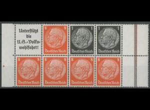 Dt. Reich, HBl. 88 B, postfrisch aus MHB, Mi. 50,- ++ (12956)