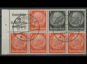 Dt. Reich, HBl. 88 B, gestempelt, Top-Zähnung, Mi. 55,- ++ (12962)