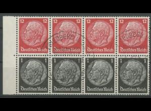 Dt. Reich, HBl. 90 B, m. Rand, gest., vollständ. Zähnung, Mi. 50,- ++ (12978)