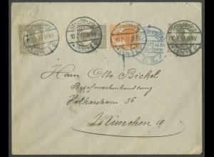 Dt. Reich, S 11, portogerechter Elsaß-Brief (13030)
