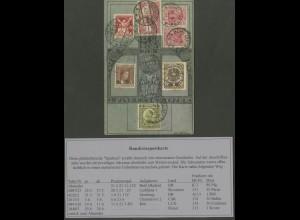 Dt. Reich, K 3, Rundreise-Karte durch sechs Länder (13045)