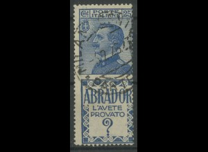 Italien, 90/R5, Reklame-Zusammendruck, gestempelt, Mi. 60,- (13082)