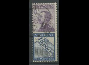 Italien, 92/R4, Reklame-Zusammendruck, gestempelt, Mi. 30,- (13093)