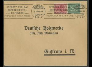 Dt. Reich, S 29, Einzelfrankatur auf Fern-Brief, Mi.-Handbuch 55,- (13219)