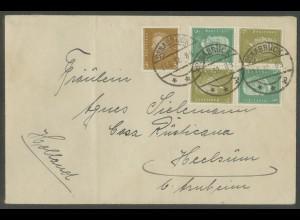 Dt. Reich, K 11 (2), portogerechter Auslands-Brief, Mi. 140,- (13256)