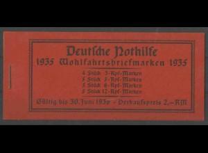 Dt. Reich, MH 41.1, postfrisch, ungeknickt, Mi. 180,- ++ (13487)