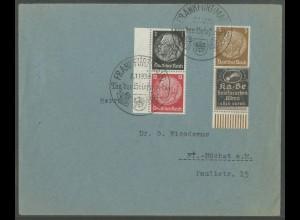 Dt. Reich, Mi. P-S 5 UR + S 147 LR, portogerecht, Mi.-Handbuch 53,- (13749)