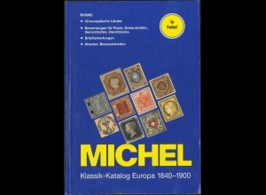 Michel Klassik-Katalog Europa 1840-1900, gebraucht, Neupreis 98,- (13770)