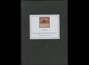 Germania-Marken mit Aufdruck Freistaat Bayern + DC, 200 Seiten, gebraucht(13775)
