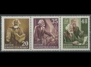 DDR, Bl W 13 A YII, Block-Zd., postfrisch, gepr. BPP, Mi. 125,- (13786)