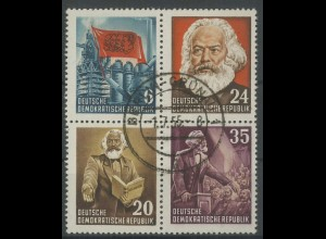 DDR, Bl V 1 YI, gestempelt, gepr. BPP, Mi. 140,- (13793)