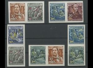 DDR, 5 Block-Zd., postfrisch, Mi. 115,- (13856)