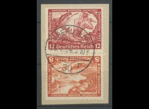 Dt. Reich, SK 20, Briefstück, Mi. 100,- (13873)