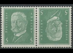 Dt. Reich, K 10, postfrisch, ungeknickt, Mi. 40,- (13946)
