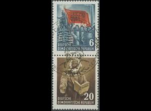 DDR, Bl S 5 YII, gestempelt, gepr. BPP, Mi. 60,- (14004)