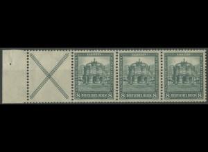 Dt. Reich, W 39 LR 2, postfrisch, 90,- (14108)