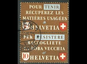 Schweiz, Altstoffe, SZd 4, gestempelt, Mi. 70,-, SBK 90,- (14226)