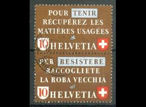 Schweiz, Altstoffe, SZd 4, gestempelt, Mi. 70,-, SBK 90,- (14227)