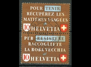 Schweiz, Altstoffe, SZd 4, gestempelt, Mi. 70,-, SBK 90,- (14228)