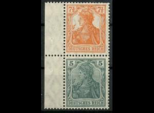 Dt. Reich, S 3 ab LR 0, postfrisch mit Rand, gepr. BPP, Mi.-Handbuch 60,- (14492)