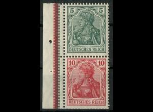 Dt. Reich, S 4 I LR 3, postfr., ndgz Rand + StrL, Mi.-Handbuch 150,- (14495)