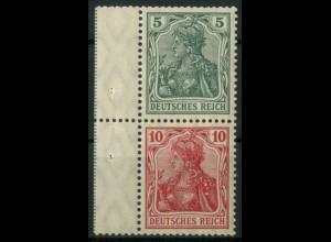 Dt. Reich, S 4 I LR 1, postfrisch, grüne StrL, Mi.-Handbuch 150,- (14503)