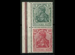 Dt. Reich, S 4 I LR 3, ungebr., ndgz Rand, Mi.-Handbuch 45,- (14506)