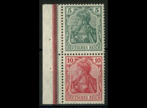 Dt. Reich, S 4 I LR 3, postfr., ndgz Rand, Mi.-Handbuch 150,- (14507)
