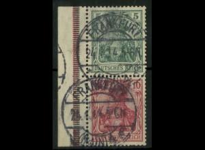 Dt. Reich, S 4 I LR 3, gest., ndgz Rand, Mi.-Handbuch 110,- (14508)