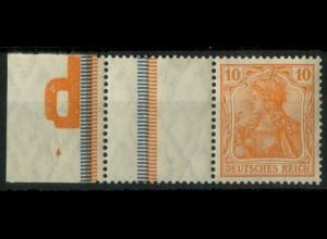 """Dt. Reich, RL 2.2 mit """"p"""", postfr., Mi.-Handbuch 150,- (14644)"""