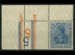 """Dt. Reich, RL 4 EOL, mit 2x BKZ """"5"""", postfrisch, Mi.-Handbuch 150,- (14694)"""
