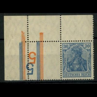 """Dt. Reich, RL 4 EOL, mit 2x BKZ """"5"""", postfrisch, Mi.-Handbuch 150,- (14697)"""