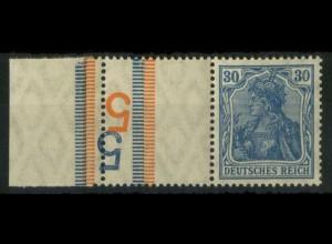 """Dt. Reich, RL 4.4, mit 2x BKZ """"5"""", postfrisch, Mi.-Handbuch 150,- (14701)"""