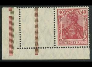 Dt. Reich, RL 8 EUL, postfrisch, Mi.-Handbuch 200,- (14765)