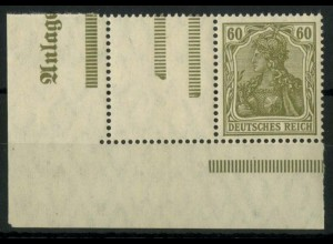 """Dt. Reich, RL 9 EUL mit """"Anlage"""", postfrisch, Mi.-Handbuch 150,- (14800)"""