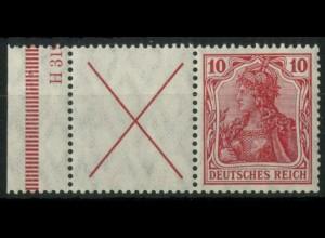 "Dt. Reich, W 4 LR 1 HAN, postfr., HAN ""H 31"", Mi.-Handbuch 1200,- (14935)"