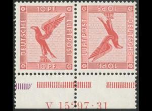 Dt. Reich, K 7 HAN, postfrisch, Befund BPP, Mi.-Handbuch 1200,- (14992)