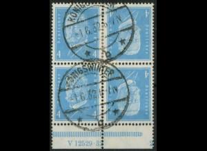 Dt. Reich, K 9 HAN 2.2 + K 9, gestempelt, Mi.-Handbuch 340,- (15084)