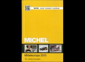 Michel Mitteleuropa 2015 (Band 1), Neupreis 66,-, portofreie Lieferung (15141)
