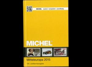 Michel Mitteleuropa 2015 (Band 1), Neupreis 66,-, portofreie Lieferung (15142)