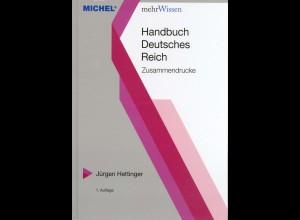Michel-Handbuch Dt. Reich Zusammendrucke, neu, 750 S., portofreie Lief. (15144)