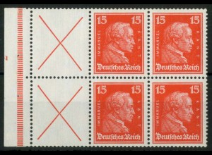 Dt. Reich, W 23 FN 2.2 + LR1, postfr., FN. 2 lieg., Mi.-Handbuch 650,- (15197)