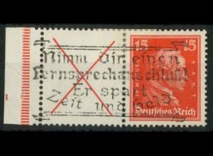 Dt. Reich, W 23 FN 2.2, gest., Form-Nr. 2 lieg., Mi.-Handbuch 600,- (15198)